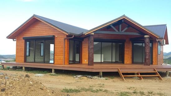 Villa bois for Conteneur maison nc