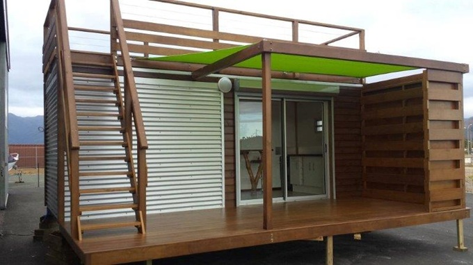 Villa bois for Gaziniere exterieur